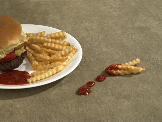 Ketchup Spill